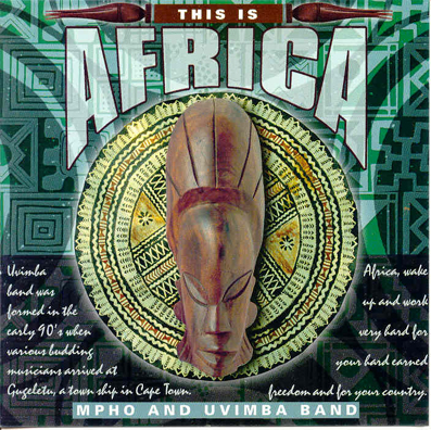 AFRICA /1/ - THIS IS AFRICA  2CD