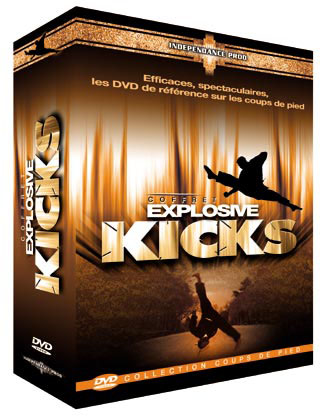 Explosive Kicks DVDs Box Set