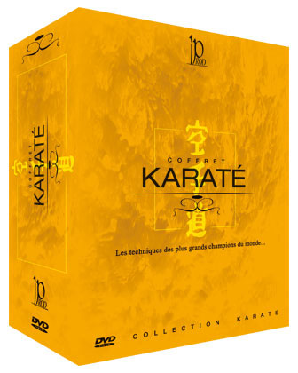 Karate DVDs  Box set