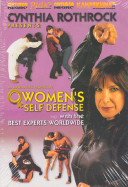 DVD: Cynthia Rothrock - WOMENS Defense