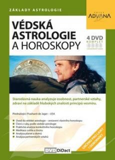 DVD Advana - Védská astrologie a horoskopy  (set 4 dvd)