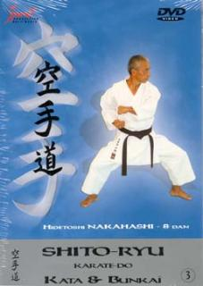 dvd: Shito-Ryu Karate-Do / Kata Bunkai 3